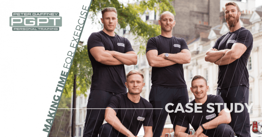 PGPT Personal Training Client Case Study - Making Time