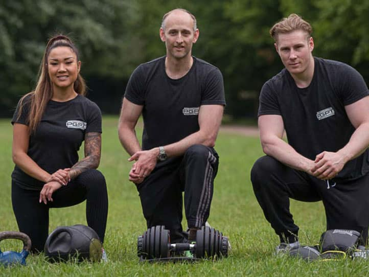 Mobile personal trainer team from PGPT