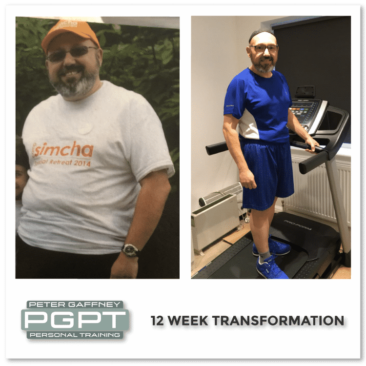 12 week body transformation images - hire a private personal trainer